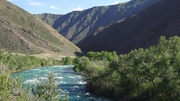 База отдыха на маршруте  Чиликский вал
