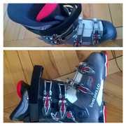 Продам комплект горных лыж с ботинками к ним (немного б/у) СРОЧНО!!!