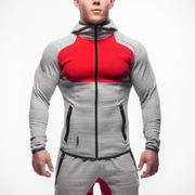 Куртка Gym Aesthetics серые с красным